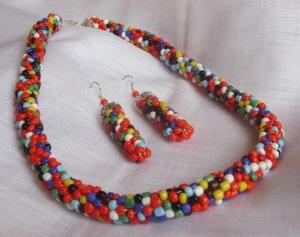Set multicolor tubular