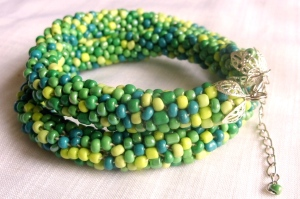 Bead rope greens