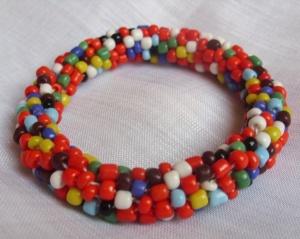Bead crochet bracelet colors